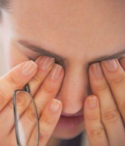 Problemas en los ojos