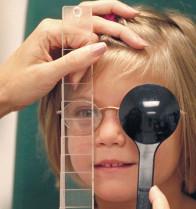 Examen de vista niños