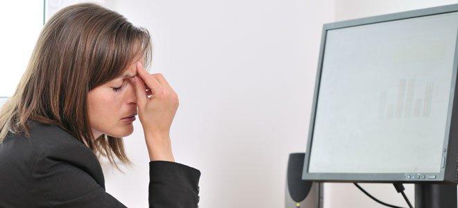 Dolor de cabeza y vista borrosa